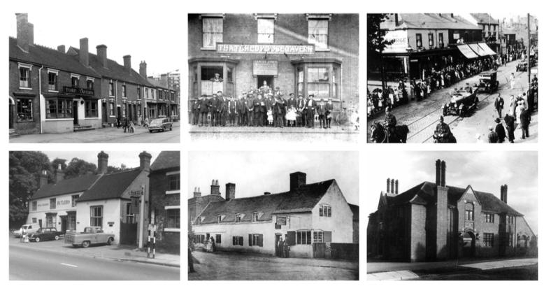 Grid of pubs