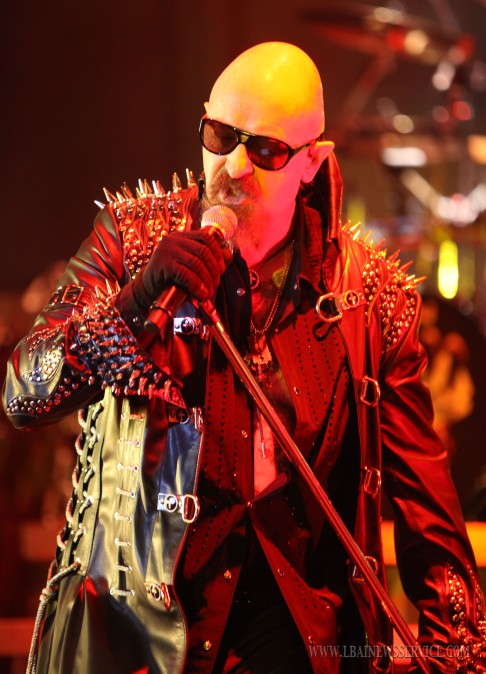 Judas Priest Lead Singer Rob Halford 2011