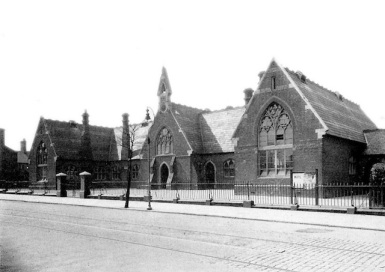 The Bloxwich National School 1931