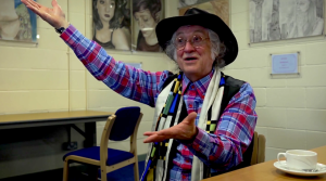 web Noddy Holder being interviewed